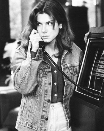 Sandra Bullock, The Net 1995 Colorful Style Swag Love 90s Picoftheday Food Instadaily Instafollow Followme Girl Me TBT  Cute Happy Nostalgia Nostalji 90lar Celebs Hollywood Sandrabullock Bw Blackandwhite