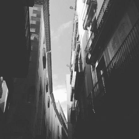 Stree Street Barcelona Streets Blackandwhite
