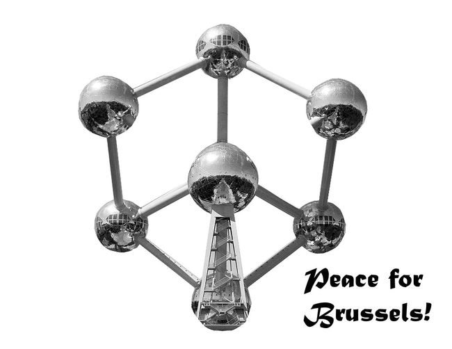 Bomb Attack Brussel Brussels Bruxelles Europe Europe Union John Lennon Peace Peace And Love Peace For Brussels Peace For Paris Peace To Brussels Peace To The World Terror Terrorism Time