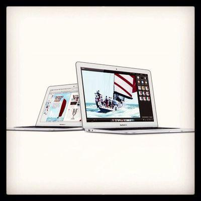 Apple hat heute still und heimlich neue Macbook Airs vorgestellt, die bisschen schneller, ausdauernder und billiger geworden! http://blog.notebooksbilliger.de/apple-macbook-air-wird-etwas-schneller-und-billiger/ Macbookair