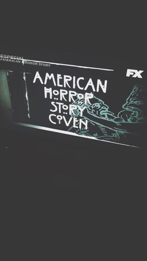 American Horror Story Ahs Coven Night FX My Favorite Show Normal People Scare Me Scary