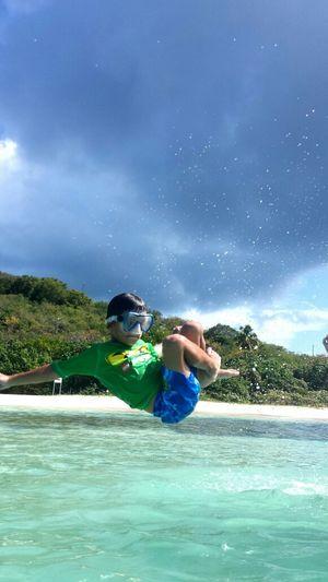 ...happy birthday on the beach....6/6 Hi! Enjoying The Sun Check This Out Isla Culebra ,Puerto Rico