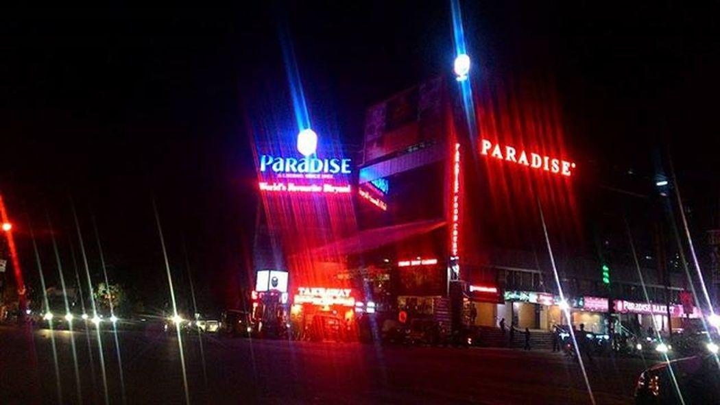 Memories are rewinding with every step. Fromfivedaysthreecities Paradise Biryani Hyderabad Secunderabad Solotrip Firststop Worldsfavoritebiryani Night Bikeride
