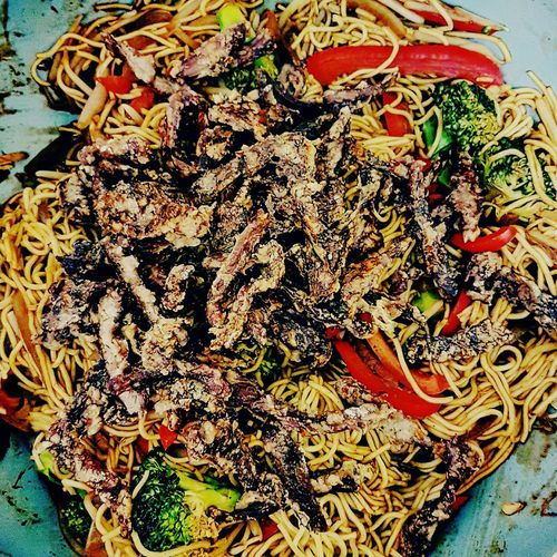 Food And Drink Food Healthyfood Plate Chowmein Noodles, Crispybeef Whatsfordinner Greatfood Slimmingworld Fresh Eat EatHealthy Eatwithyoureyes
