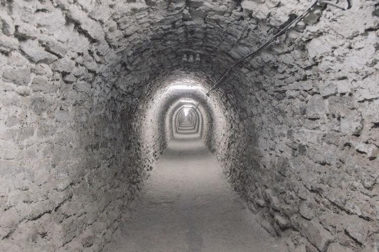 Archway in salina turda