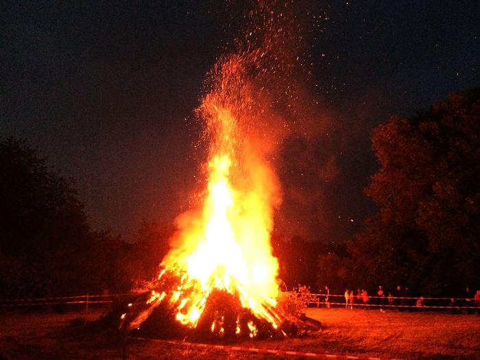 Johannisfeuer Fire