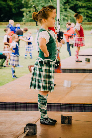 Competition Dancing Highland Dancing Highland Games Highlands Lifestyles Real People Standing