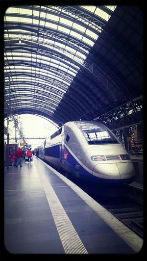 Train Station TGV Travel Photography HTC One S