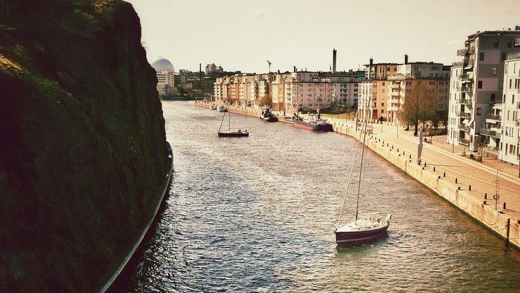 View from a bridge in Stockholm. View From A Bridge Amazing View EyeEm Best Edits MADE IN SWEDEN