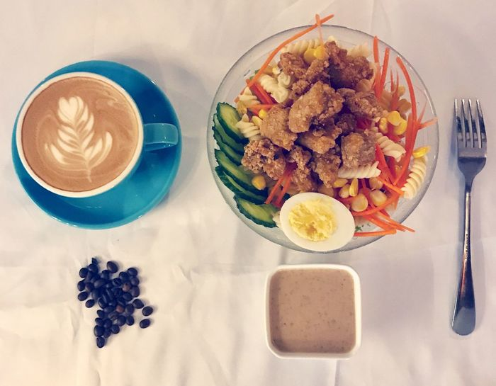 Food And Drink Coffee Salad Coffee Tail Dongguan, Chang'an