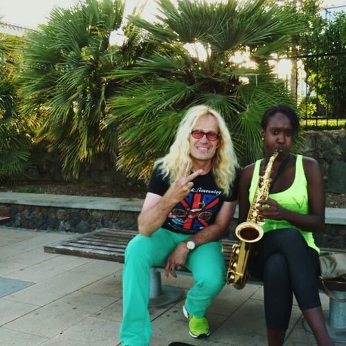 Musicians Gran Canaria Blackandwhite