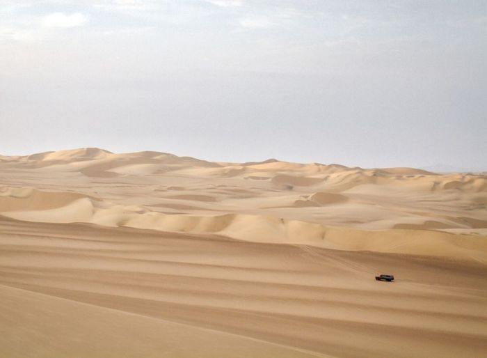 Ica Peru Desert Land Environment Tranquil Scene Tranquility Non-urban Scene Sand Dune Remote No People Nature Arid Climate Beauty In Nature Sky Day