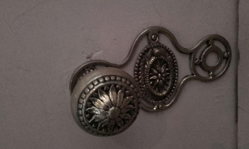 doorknob Door Gold Colored Brass Doorknob Castle Kasteel Amerongen Metalwork Art