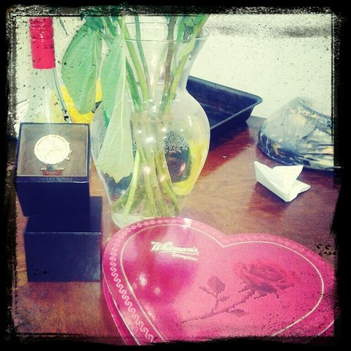 Wine,candy,flowers,michael Kors Watch