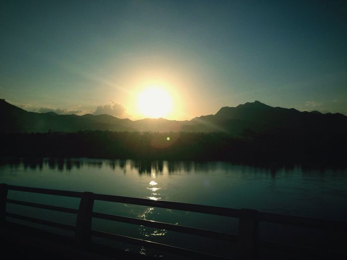 Sunset San Juanico Bridge Tacloban, Philippines