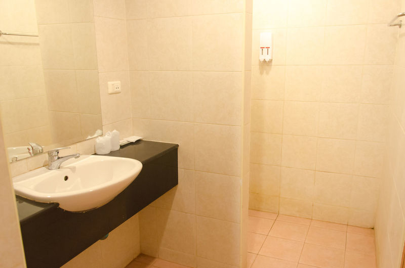 Interior Of Clean Bathroom