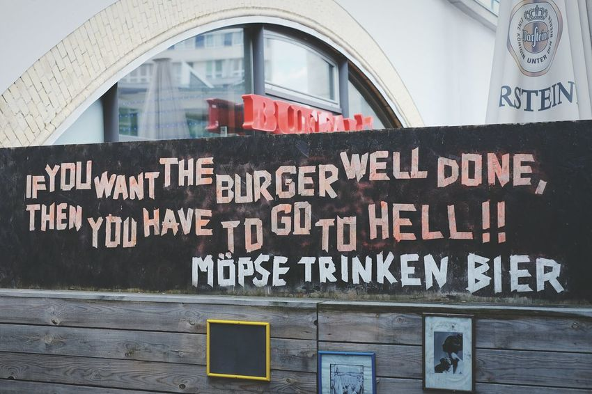 Tonight we dine in Hell! Or in BBI. Burgers Burger Streetphotography Street Photography Food Well Done  Hell