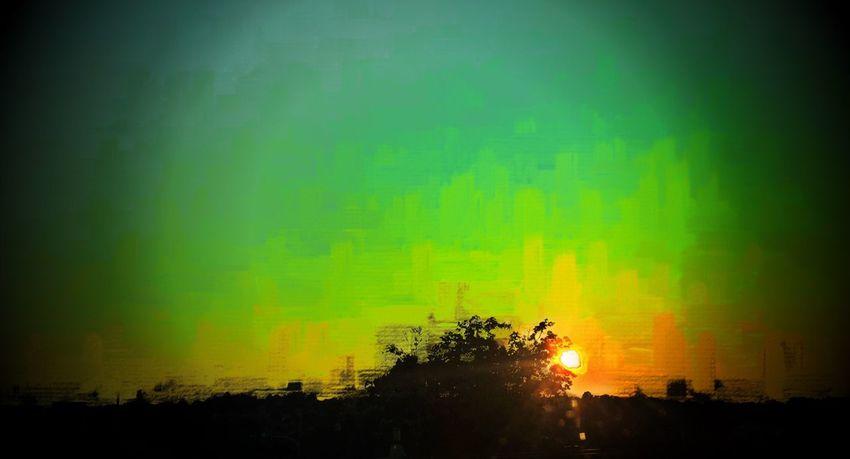 Sherbetsky Sherbert Summertime Sunset Sunset_collection Mattroeartist