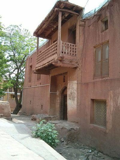 Abyaneh ancient village in Kashan-Iran Traveling