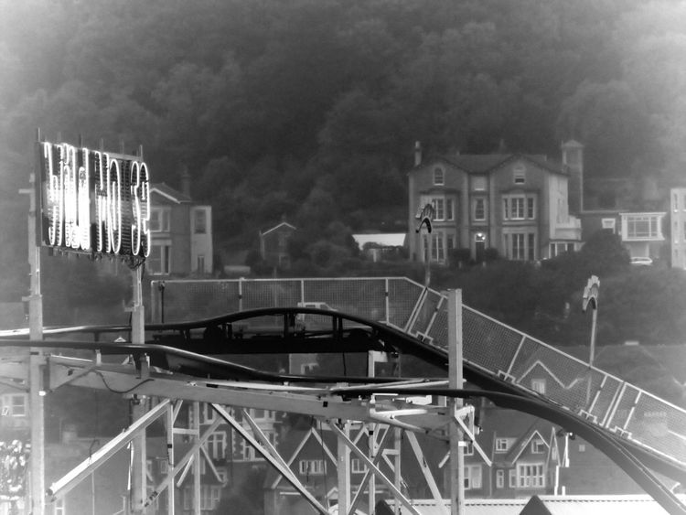 Fairground Ride Weston-super-mare Somerset England Working And Watching In Awe Watching And Waiting Camera Ready Expect The Unexpected  Another Dimension Taking Photos Imperfections Is Beauty  Blackandwhite Photography