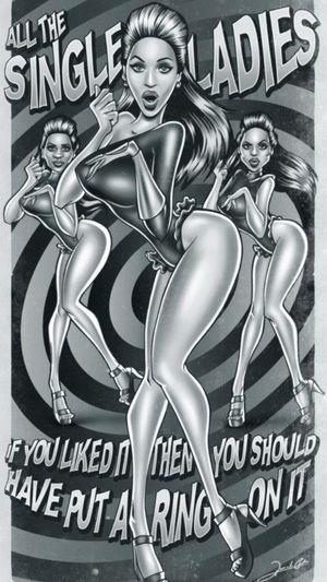 Art | Illustration - Beyoncé