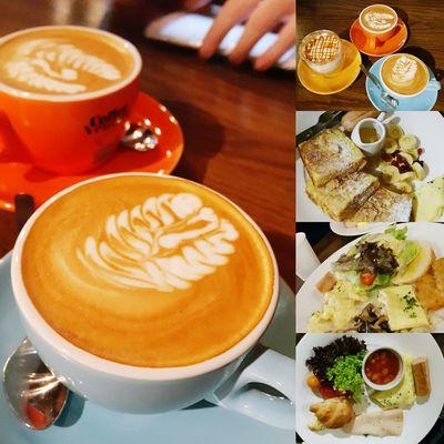 Good Morning Breakfast Time! Caffeinated Cappucino Drinking A Latte Caramel Macchiato Dailydose Coffee Venture