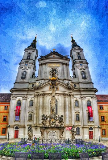 Church Wedding Traveling Old World Architecture Lookingup Blue Sky Travel Photography