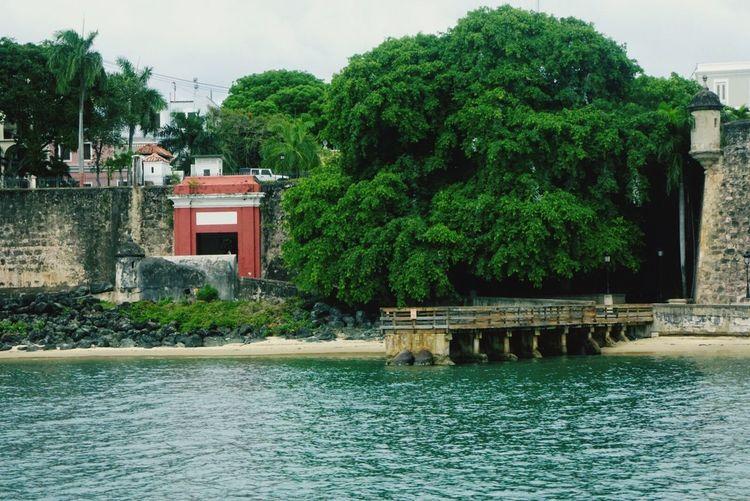 Entrada principal San Juan Puertorico PuertoRico Beach Caribbean Island