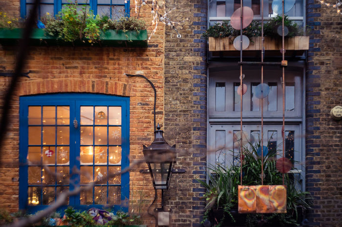 Neal's Yard, London Architecture Building Exterior Built Structure Check This Out City Day Finding New Frontiers Helios London LONDON❤ Neal's Yard No People Old-fashioned Outdoors Plant Sonyalpha Traveling Home For The Holidays Window Window Box The Architect - 2017 EyeEm Awards EyeEm LOST IN London Mix Yourself A Good Time