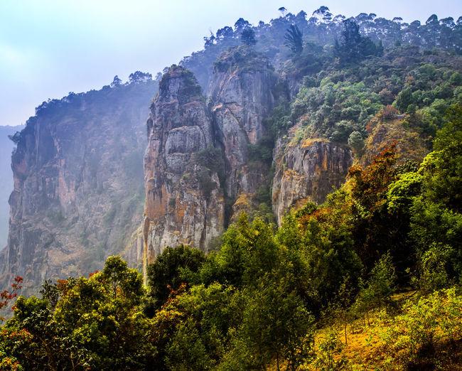 Hillside SkyMountain Landscape