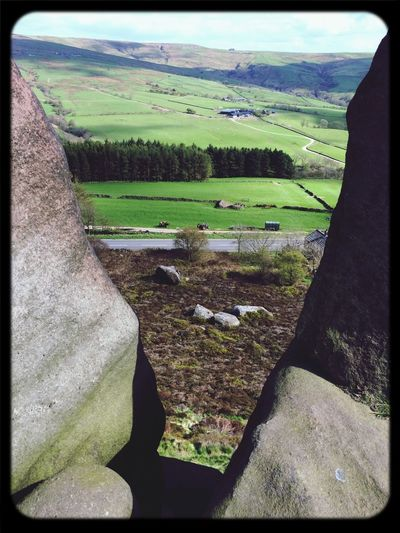 Trying to make a film.... Rocks Rock Climbing Outdoors Staffordshire