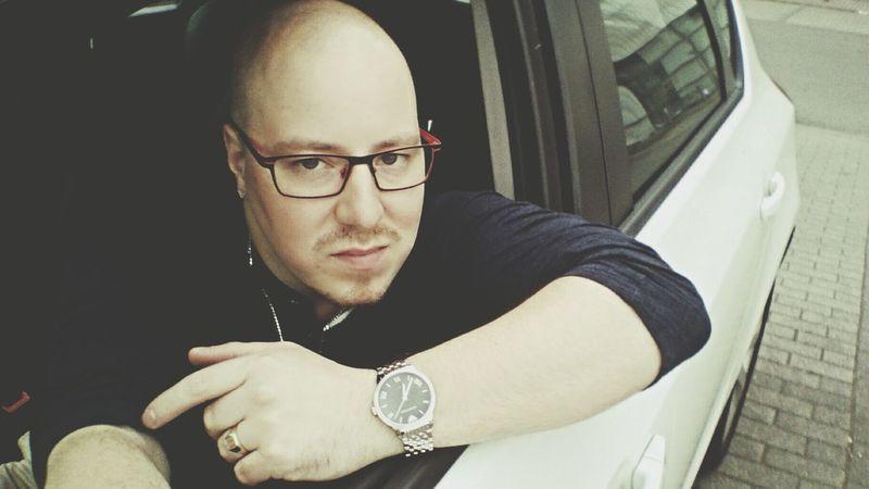 Hello. That's Me Self Portrait Wats Up Armani Mafia  Do You Like It? Car In My Car Picture Charleroi