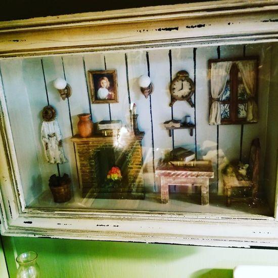 Diorama Rooms Mini Kids Room Little Handmade Art Shadowbox