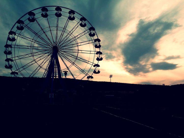 колесо_обозрения Без фильтра мое небо настроение осень
