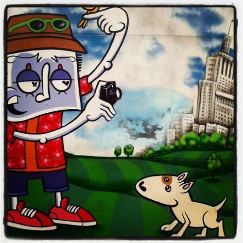 Grafite do mano @chivitz na pça da RepublicaArtederua Grafitesp Arteurbana HipHop