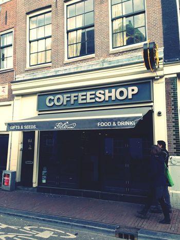 Traveling Amsterdam Coffeshop