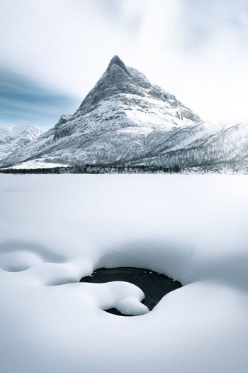 Innerdalen Travel Mood Hike Explore Tourism Fujifilm Skiing Winter Minimalism Adventure Photography Innerdalen Visit Norway Norway EyeEm Selects Cold Temperature Snow Winter Scenics - Nature Beauty In Nature Tranquility Nature Mountain Landscape Frozen Ice Day Snowcapped Mountain