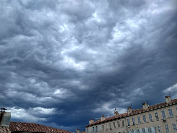 Sky Ciel Blue Sky Black Sky Marseille EyeEm Selects No People Sky And Clouds