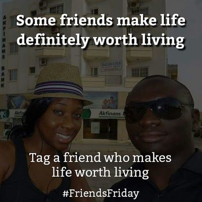 Some Friends make Life definitely worth Living , don't you think? Why not tag a Friend who makes life worth living. Goodmoring FriendsFriday HappyFriday