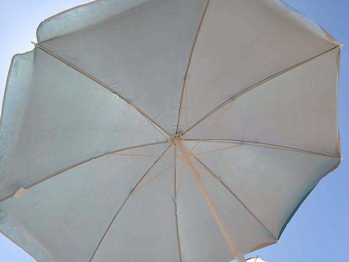 Sombrilla Umbrella Sombrilla Chipiona Beach Sky Close-up Beach Umbrella