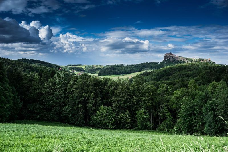 Castle Burg Riegersburg Austria Styria Plant Cloud - Sky Sky Growth Tree Architecture Nature Landscape Land Beauty In Nature