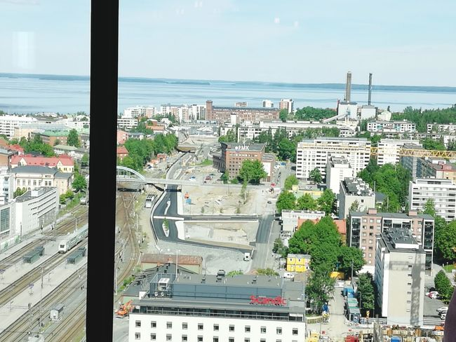Finland♥ Tampere Finland_photolovers Finland Summer Tree Building Exterior Aerial View Skyscraper Outdoors No People Built Structure Architecture Downtown District Horizon Over Water Politics And Government Urban Skyline Water Cityscape High Angle View Sea Travel Destinations Modern Finland100years Tampereparaspaikka Tampereen Kauppahalli Mobility In Mega Cities