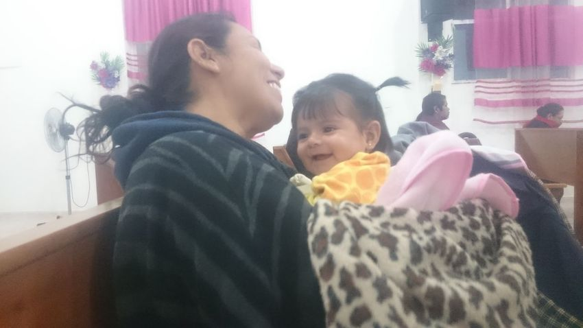 My Wife Claudia My Fadhila Togetherness Smiling Love Warm Clothing Baby Comarca Lagunera Happiness Lifestyles Indoors  Dios Es Bueno Cristo Viene Cristo Rey Cristo Es El Señor DiosesBueno