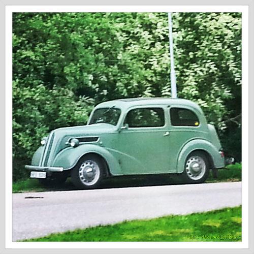 Oldcar Green Color Green Greencar Green Nature