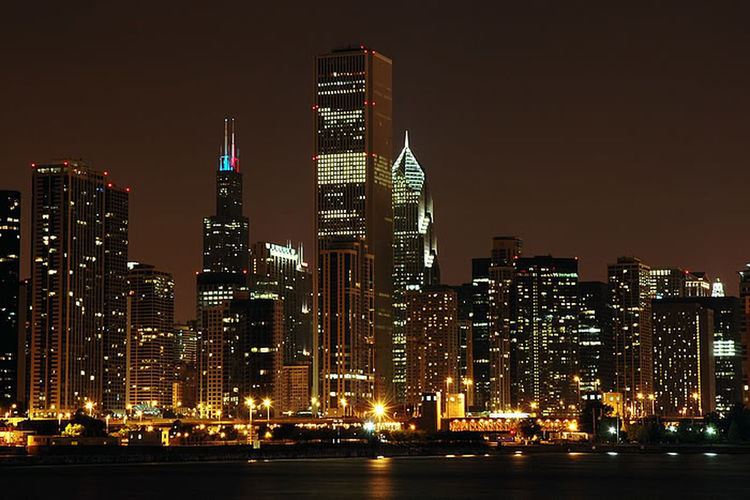Chicago Love It Late Night, City Night, ;)