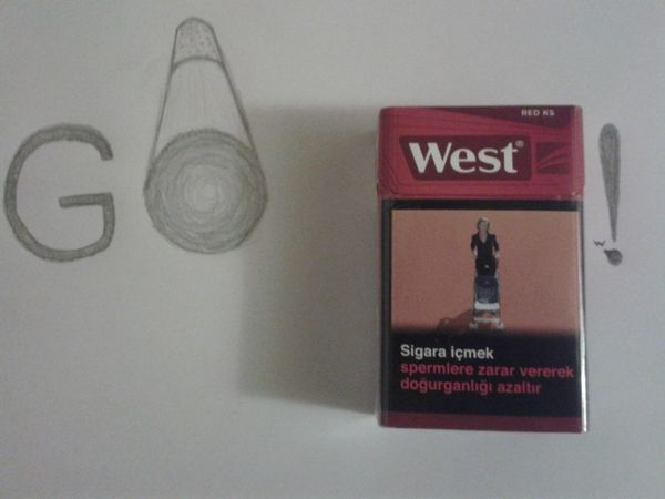 when you bored, go west! Drawing Smoke Tricks
