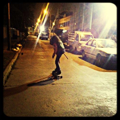 Enjoying Life with my niece :') Skateboarding Having Fun woooo!