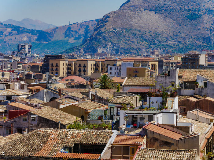 Architecture City Cityscape EyeEm Best Shots Palermo Roof Rooftop Sicilia Sicily Travel Travel Photography Traveling View Building Exterior Built Structure Day House Italy Mountain No People Photography Residential Building Scenics Travel Destinations Urban