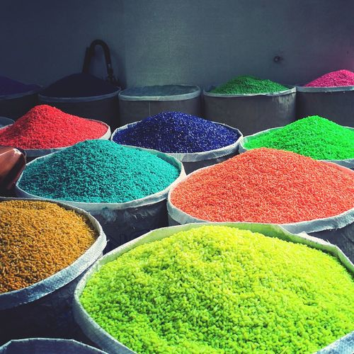 colors for life ! EyeEmNewHere Legume Family Powder Paint Multi Colored Bean Talcum Powder Food Staple Sack Market Choice Variation Grain Market Stall Farmer Market Street Market