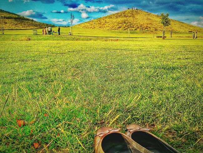 Beautiful nature.... Even more beautiful is its amazing Creator... Nature By My Side Landscape_Collection Wild In The Hills Green Grass Hills Hdr_Collection At The Park Feeling Thankful Depth Of Field